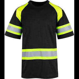 ec65bf14 Sigtuna T-Shirt Sort/Gul